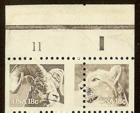 Scott 1880 Var And 1881 Imperforate Between Vertically Error Photographically Cropped From One Of Only Two Known Booklets